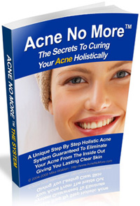 acne cure book image